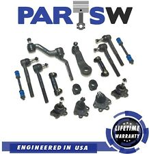 16 Pcs New Front Suspension Kit for Chevrolet GMC K1500 Ball Joints/Tie Rod Ends