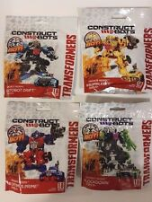 TRANSFORMERS Age of Extinction Construct-Bots Dinobot Rider OPTIMUS PRIME LOT 4P