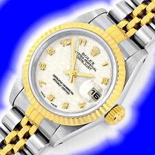 Rolex Armbanduhren mit gebürstetem Finish für Damen