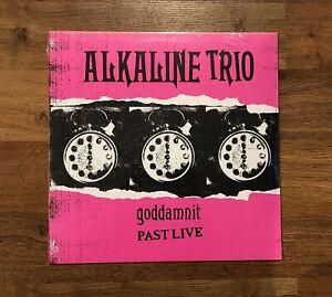Alkaline Trio - Goddamnit *SEALED* Past Live LP NEW PINK Colored vinyl