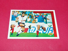 G. FLITCROFT ENGLAND FUTURE STARS FOOTBALL CARD UPPER USA 94 PANINI 1994 WM94