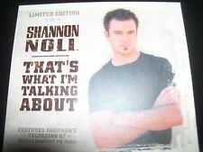 Shannon Noll That's What I'm Talking About Limited 2 CD Edition - Like New