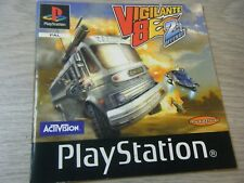 RARE VIGILANTE 8 2ND OFFENCE PLAYSTATION 1 REPLACEMENT MANUAL MANUAL ONLY