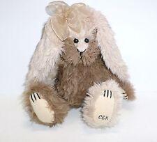 GANZ Cottage Collectible Rabbit Carol E. Kirby stuffed plush 1999 Signed