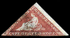 Cape of Good Hope. 1857. 1d. Rose. SC# 3, SG 5. Fine Used -s