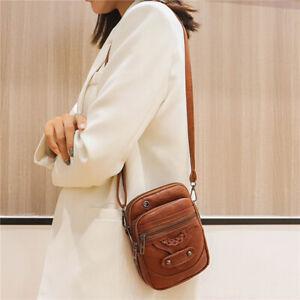 PU Leather Messenger Bag Cross Body Shoulder Handbag Work Travel Fashion Bag BT