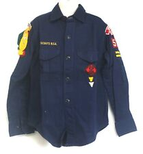 BSA Cub Scout Uniform Shirt Patches Webelos Pins Arrows Victorville Long Sleeve