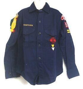 BSA Cub Scout Uniform Shirt Patches Webelos Pins Arrows Victorville Long Sleeve