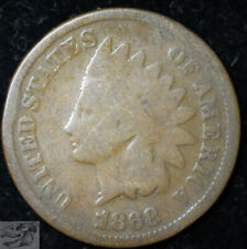 1868 Indian Head Penny, Cent, Good Condition, Buy 4 Get $5 Off, Free Ship, C5330