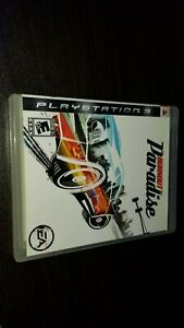 Burnout Paradise (for Playstation 3 PS3) Complete CIB