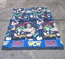 WCW blanket New World Order comfort Randy Savage & Goldberg 1998 Hulk Hogan nWo