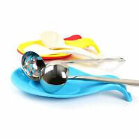 Süßigkeit-Farben-beständige Silikon-Löffel Mat Tischset Kit^ Untersetzer T S2A1