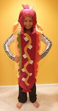 2-EUC 2-3 2t-3t POTTERY BARN KIDS TODDLER CHILD HOTDOG HOT DOG HALLOWEEN COSTUME