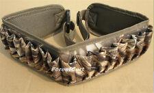 Camo Shotgun Shell Holder 25 Ammunition Belt,Adjustable Waist Strap 600D Oxford