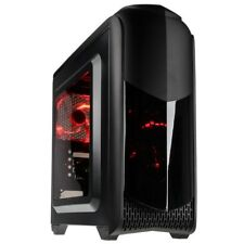 Kolink Aviateur M MICRO ATX tower DEL Rouge USB 3.0 PC De Bureau Gaming Case Noir
