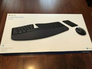 Microsoft Sculpt Ergonomic Desktop Keyboard Black