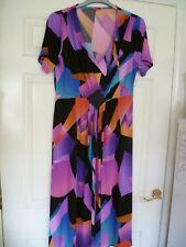 Ladies Special Occasion Dress Arlene Phillips Debenhams S 16 / 44 Multi Brights