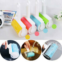Washable Roller Cleaner Lint Sticky Picker Pet Hair Fluff Remover Brush Reusable