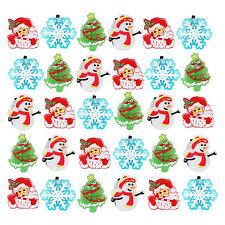 Paquete De 30 Surtido Novedad Navidad Luz-Up intermitente Joyas Anillos