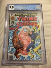 Marvel Two In One 61 CGC 9.0 1980 The Thing And Starhawk Her Awesome!!!