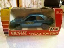 Auto di modellismo statico blu Polistil