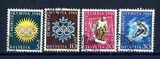 SWITZERLAND - SVIZZERA - 1948 - Olimpiadi invernali di St. Moritz.E1337