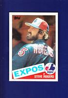 Steve Rogers 1985 TOPPS Baseball #205 (MINT) Montreal Expos