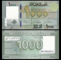 LEBANON 1000 (1,000) Livres, 2016, P-90, UNC World Currency