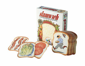 Brand New Gamewright Slamwich Card Game Strategy Childrens sequencing