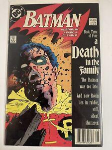 Batman #428 A Death in The Family Part 3 DC Comics DEATH OF ROBIN