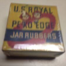 Vintage Fruit Jar Rubbers,U.S. Royal PE-KO Edge Rubbers,U.SA.