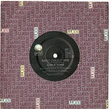 """GUNS N' ROSES - SWEET CHILD O' MINE / IT'S SO EASY - 7"""" 45 VINYL RECORD 1987"""