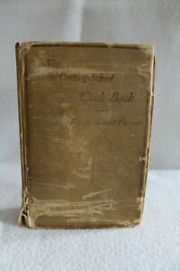 1914 The Boston Cooking School Cook Book Fannie Farmer HB Antique Nice!