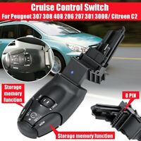 Cruise Control Handle Switch For Peugeot/Citroen 307 308 408 206 207 301 6242Z9