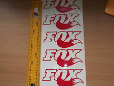 Fox F Style Decals Stickers. X5