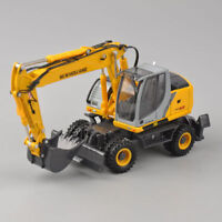 Diecast 1:50 New Holland ROS MH5.6 Wheeled Excavator Model Engineering Vehicle