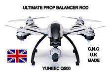 Yuneec Q500 Prop balanceador Varilla, sólido de aluminio cepillado.