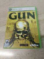 Gun Microsoft Xbox 360 Neversoft Activision