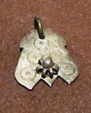 Amazing Antique 15-16th.c.Silver Pendant # 411