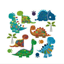 Cute Dinosaur Patches Household Heat Iron on Transfer Stickers DIY Clothes  Fw