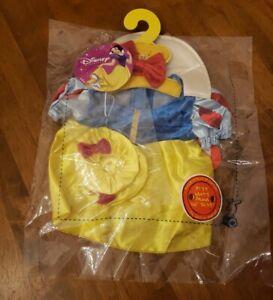 Build a Bear Snow White Disney Princess Dress & Slippers Teddy Costume NIP