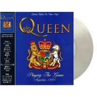 LIMITED * QUEEN Playing The Game * Argentina 1981 * CLEAR VINYL LP * SEALED