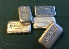 2 oz Hand Poured 999 Silver Bullion Bar by YPS (Bare Bones)