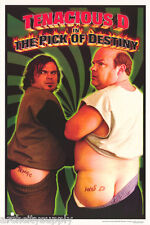 POSTER: MOVIE REPRO : THE PICK OF DESTINY - TENACIOUS D - SMOOTH - #3501 LW20 H
