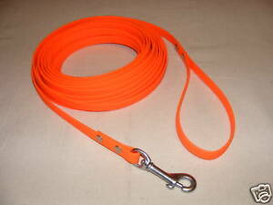 Tracking Line, Biothane, blaze orange!!