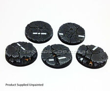40mm ROUND URBAN macerie RESINA basi-WARHAMMER 40K 40000 CITY ROAD CEMENTO