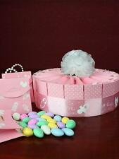 Set of Favour Boxes Baby Shower Favor Cake Kit - It's a Girl! 1 Tier Pink