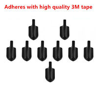 10pcs High Quality Air Vortex Generator Diffuser Kit for Car Roof Spoilers Wings