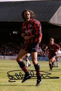 Mark Hateley Hand Signed 6x4 Photo Glasgow Rangers Autograph Memorabilia + COA