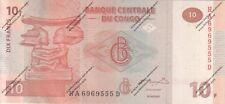 billet de 10 frs NEUF de la Banque Centrale du Congo